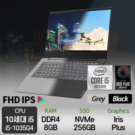 [최신 아이스레이크 CPU] 사운드바증정) 최신 10세대 노트북 S340-14IIL-i5 [ 블랙 / 그레이 ]