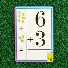 덧셈 플래시카드 / 4세이상