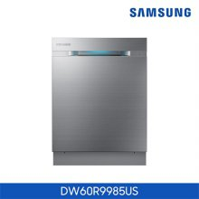 식기세척기 DW60R9985US [ 리얼 스텐인리스 / 빌트 언더 / 12인용 / 워터월 / 스마트 컨트롤 ]