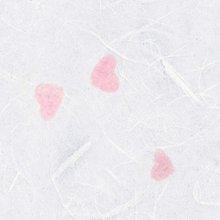 한지로 A4 OA 꽃보라 한지 인쇄용 15매 36g 흰하트_15
