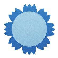 DF-1010 꽃판8(파랑) 2pcs/200mm