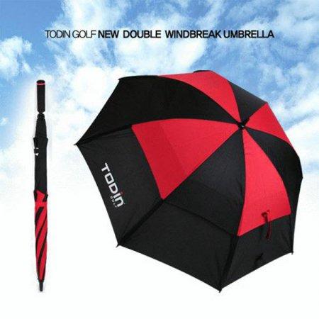 더블 이중방풍 골프우산(레드)