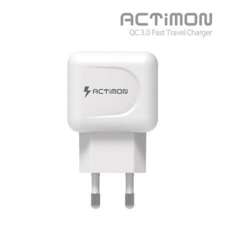 엑티몬 USB 9V 급속 QC 3.0 가정용 충전기