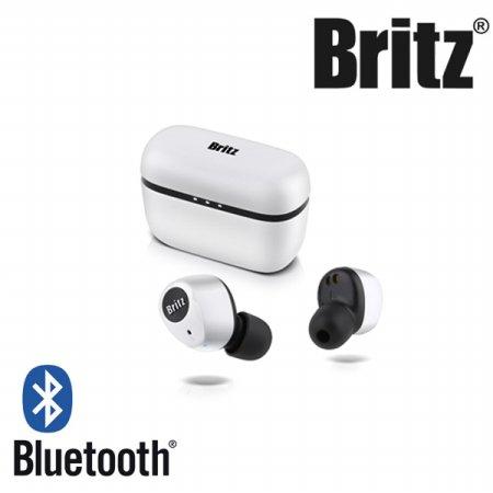 [비밀쿠폰]브리츠 TWS 블루투스 이어폰[화이트][BR-TWS202]
