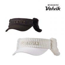볼빅 VAIF-여성용 부클 자수 선바이저