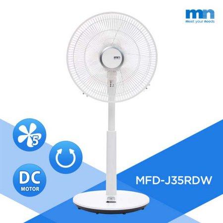 DC모터 저전력 선풍기 MFD-J35RDW [ 5엽날개/ 35cm/ 12단계 풍량조절]