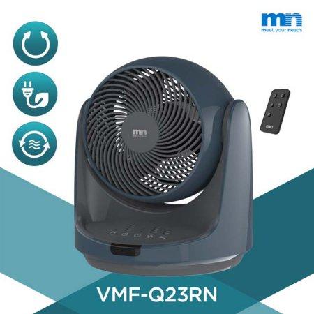 공기순환 자동회전 리모컨형 써큘레이터 VMF-Q23RN [3엽날개/ 23cm/ 9단계풍량조절]