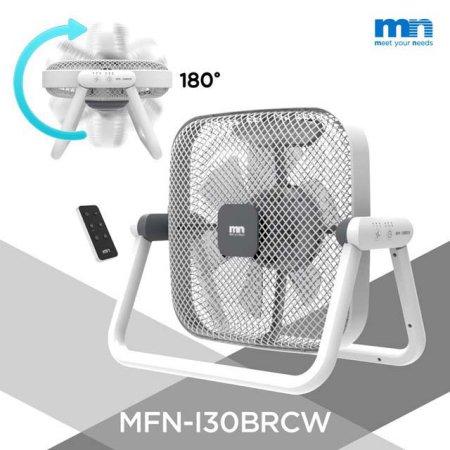 180도 회전 롤링팬 리모컨 선풍기 MFN-I30BRCW[7엽날개/ 30cm/ 3단풍량조절]