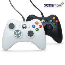 XBOX360 호환 게임패드_블랙 (PC, 스마트폰, 스팀링크)
