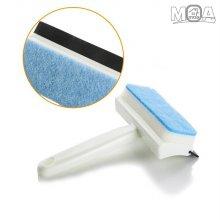 욕실 거울 타일 물기제거 청소솔