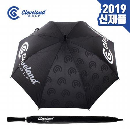 [63.5cm/330g]클리브랜드 로고 패턴 포인트 우산 CGP-18082I
