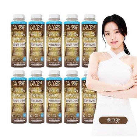 [칼로바이] 파워쉐이크 초코맛 10개입 (단백질 쉐이크)