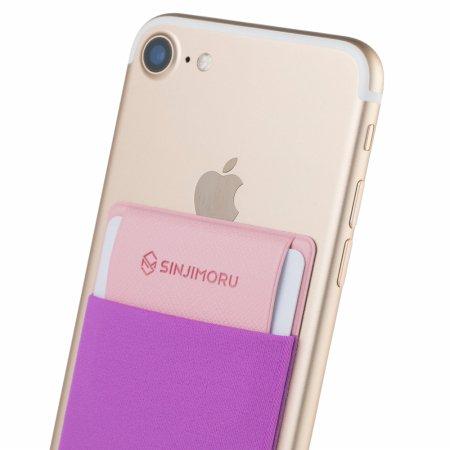 신지파우치 핸드폰 카드케이스/플랩 - 바이올렛