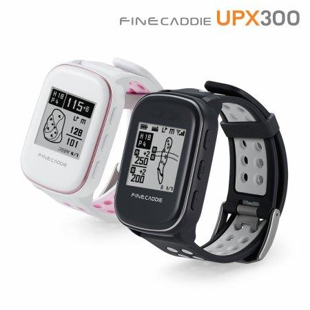 [본사정품] 파인캐디 UPX300 (화이트) 시계형 GPS 골프거리측정기 전용 어플 지원 항공 측량 DB 사각지대 홀뷰