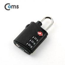 도난방지 비밀번호 자물쇠(TSA) 3 dial 블랙_52A677