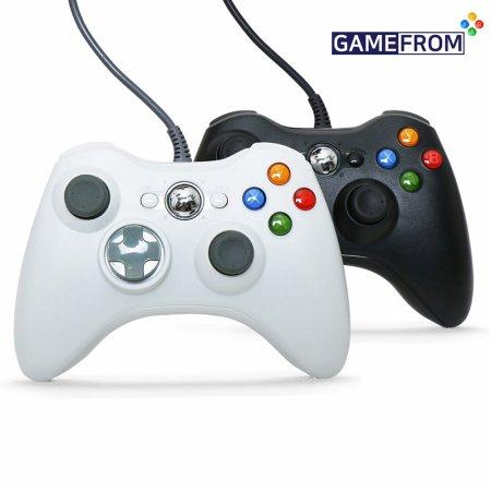 XBOX360 호환 게임패드_화이트 (PC, 스마트폰)