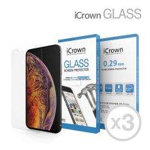1+1+1 아이크라운 9H 강화유리필름 아이폰 XR