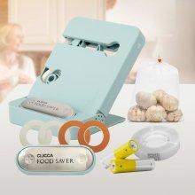 클리카 푸드세이버 안심 포장기 마스킹 테이프 4개 추가/ 비닐접착기 실링기 봉합기 봉지밀봉 음식포장