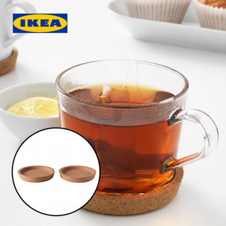 정품 IKEA365+컵받침 받침대 코르크