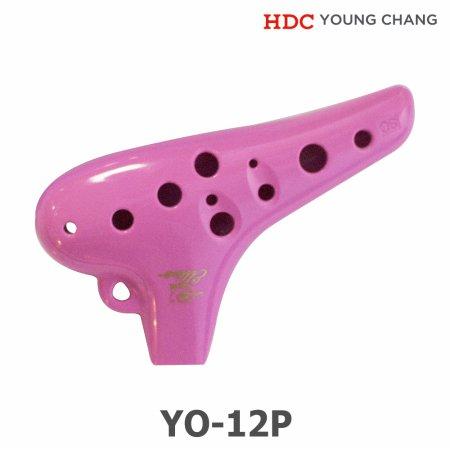 [견적가능] 영창 알토 오카리나 YO-12P 핑크