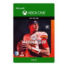 메이든 NFL 20 : 얼티밋 슈퍼스타 에디션 [XBOX ONE] [디지털 코드]