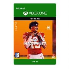 메이든 NFL 20 : 스탠다드 에디션 [XBOX ONE] [디지털 코드]