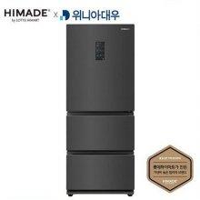 하이메이드 X 위니아대우 스탠드형 김치냉장고 HDKRQ38DGCS (326L) / 3도어 / 2020년형