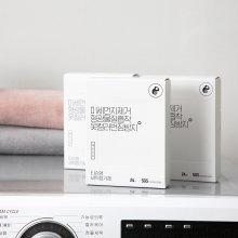 [레오니오] 미세먼지 형광물질 흡착제거 세탁티슈 24매 x 5box