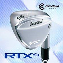 (던롭정품) 클리브랜드ALL NEW RTX 4 투어사틴 스틸 웨지(MODUS3 120)