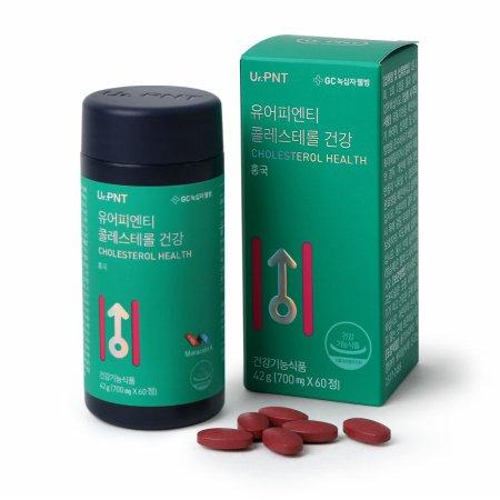 유어피엔티 콜레스테롤 건강 홍국 모나콜린K 60정