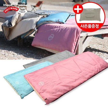 파스텔 침낭(기본형) 감성 캠핑 사계절 디자인침낭