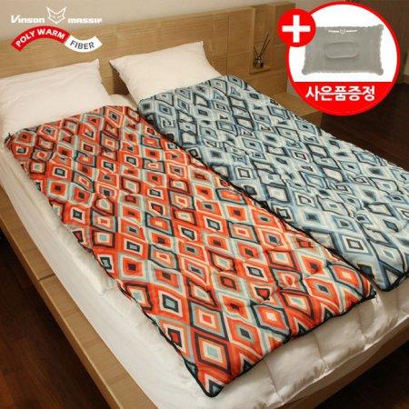 빈슨메시프 마몬 기본형 침낭-북유럽 감성 하우스 캠핑 침낭