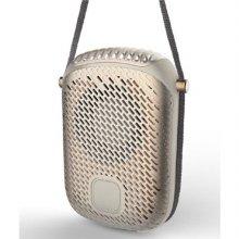 목걸이형 탁상형 휴대용 핸디팬(골드) SKF-N1 [2단계풍속조절/ 최대4시간사용가능/ 완충충전2시간]