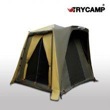 트라이캠프 FO-14PLUS + 이지시트 낚시 텐트 민물 캠핑