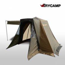트라이캠프 FO-20EF 낚시 텐트 자동 원터치 민물 캠핑