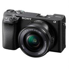 알파 A6400L 미러리스 카메라 렌즈KIT[블랙][본체+16-50mm][32G메모리카드+가방증정]