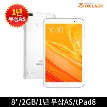 태클라스트 코리아 APEX 태블릿 tPad8 (화이트)