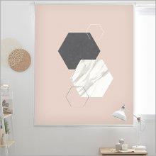 지오매트릭 롤스크린-핑크(R461)