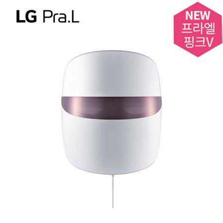 [최상급 리퍼상품 단순변심 / L.POINT 2만점 증정] LG Pra.L 더마 LED 마스크 핑크V