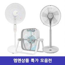 BOLD7 컴비네이션팬 선풍기 FCN-35GBW [3시간타이머/ 자동회전/ 4단계풍량조절]