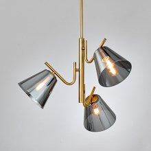 LED 펜던트 크로이 3등 원형 카페 매장조명