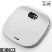 퓨어화이트 디지털 체중계 HE-500