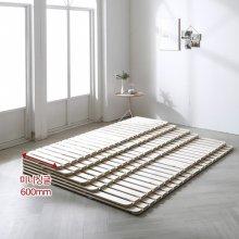 트리빔하우스 네이쳐 소나무 원목 접이식 저상형 침대 깔판_미니싱글
