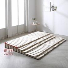 트리빔하우스 네이쳐 소나무 원목 접이식 저상형 침대 깔판_싱글