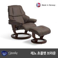 스트레스리스 RENO(레노) 팔로마/초콜릿(리클라이너 의자)