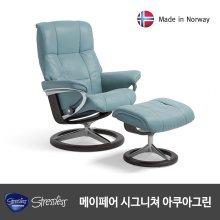 스트레스리스 MAYFAIR SIGNATURE(메이페어 시그니쳐) 팔로마/아쿠아그린(리클라이너 의자)