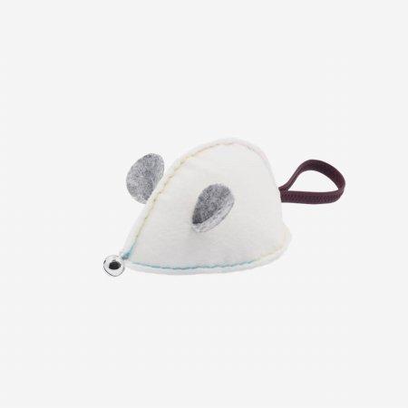 일루 미키 쥐돌이 장난감-브라운(화이트,브라운,그레이)