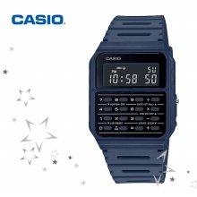 카시오 CA-53WF-2B 남성 데이터뱅크 계산기 전자 시계