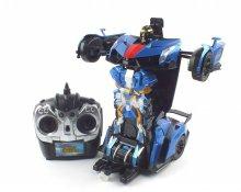 1/14 근접센서작동 트랜스포메이션 슈퍼 변신로봇 블루 R/C