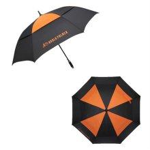 이중방풍우산 오렌지 75장우산 케이스 심플우산 컬러